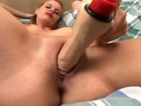 Milf sucks cock and fucks in ass in all positions