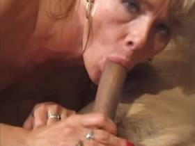Man fucks blonde mature in diff positions and jizzes
