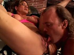 Mature sucks cock and gets licking pussy and ass