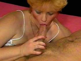 Cute hungry mature has oral sex and gets hard fuck